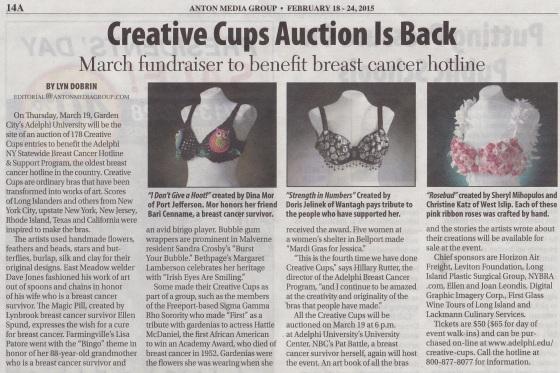Creative Cups Newspaper