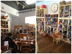 Knit Shop Inside