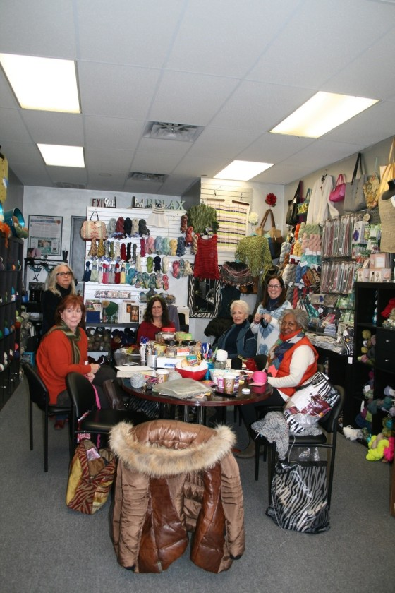 The Knitting Store Shop Inside