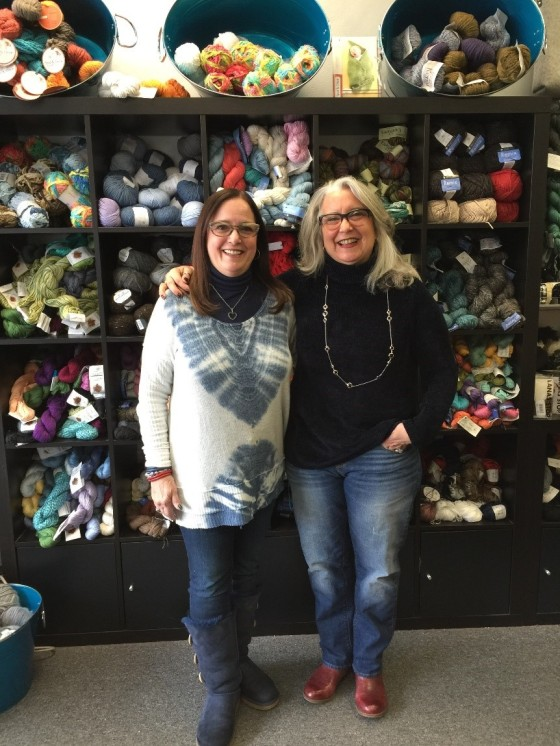 The Knitting Store Shop Owners