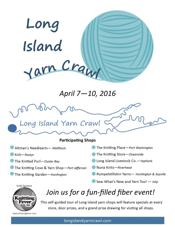 LI Yarn Crawl Poster Letter