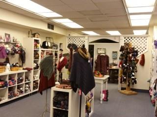 Knitting Garden Shop Inside