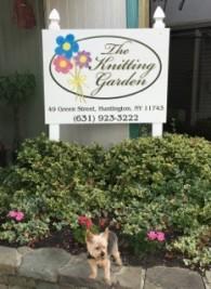 Knitting Garden Shop Outside